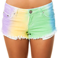 The Rainbow Dreams Shorts in Multi