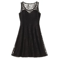 Xhilaration® Junior's Lace Sweetheart Dress - Assorted Colors