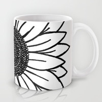 Sunflower Mug by Brenna Whitton