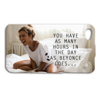 Beyonce iPhone Case Cute Phone Case Quote iPod Case iPhone 4 Cover iPhone 5 Case iPhone 5s Case iPhone 4s Case iPod 4 Case Girly iPod 5 Case