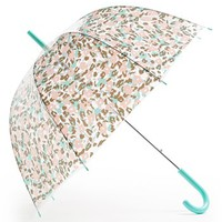 Tri-Coastal Design Leopard Print Umbrella (Juniors) | Nordstrom