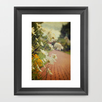 Summer Daisies Framed Art Print by Olivia Joy StClaire