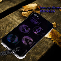 Divergent factions galaxy nebula Cover iPhone 4 4S iPhone 5 5S 5C and Samsung Galaxy S3 S4 S5 Case