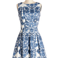 Ain't We Haute Fun? Dress in Paisley | Mod Retro Vintage Dresses | ModCloth.com