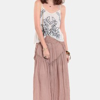 Desert Crossing Maxi Skirt