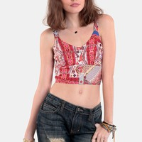 Wild Card Crop Top