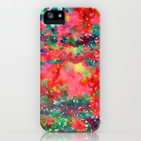 Wild At Heart iPhone & iPod Case by Jacqueline Maldonado
