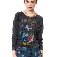 The American Wasteland Raglan Sweater in Black