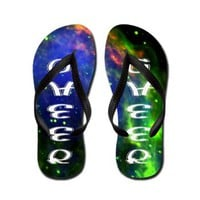 Cheerleader Flip Flops> Just Flip Flops> Designs by Alex