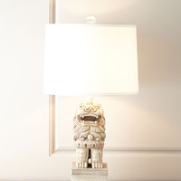 Chow Table Lamp