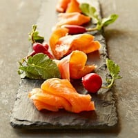 Scotch Cured Smoked Salmon