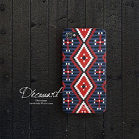 Navajo iPhone 4 case iPhone 4s case navajo pattern by Decouart