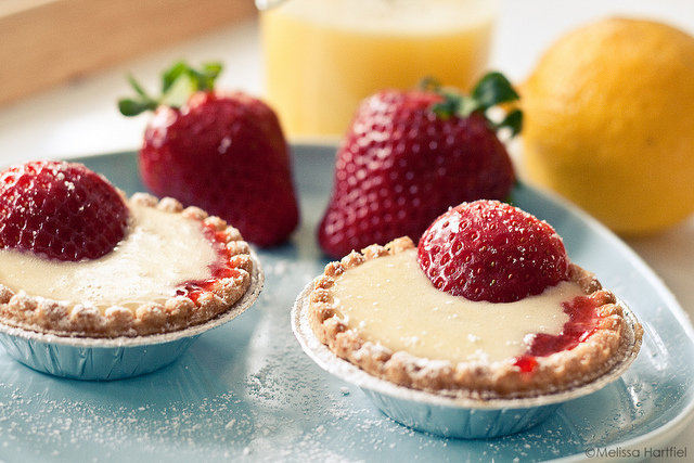 Strawberry Lemon Tarts | Eyes Bigger Than My Stomach by Melissa Hartfiel