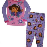 Nickelodeon Dora 2 Piece Cotton Sleepwear Set
