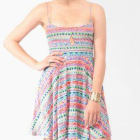 Cutout Geo Print Dress | FOREVER21