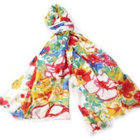 Made of Me Women's Floral Park Scarf