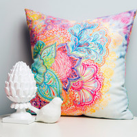 Stephanie Corfee Flourish Throw Pillow - Indoor /