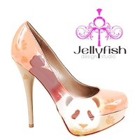 Studio Jellyfish | Panda Shoes  - Heels 5 inch plus - Jellyfish Shoes