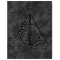 Harry Potter Deathly Hallows Crest Leatherette Journal | WBshop.com | Warner Bros.