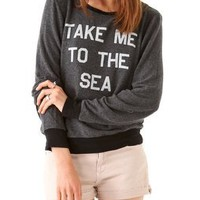 Wildfox To The Sea Sweatshirt | SHOPBOP
