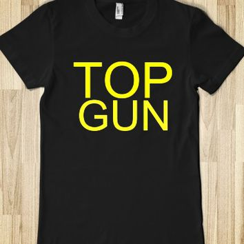 TOP GUN JUNIORS FITTED TEE