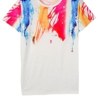 Splash-ink Short Sleeve Tee - OASAP.com