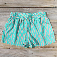 Sand Dancer Shorts in Green