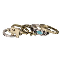 Midi Elephant Ring Set