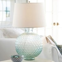 Karlie Glass Bedside Lamp Base