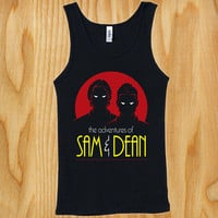 best Seller Sam and Dean The Animated Series shirt for Tank top Mens and Tank top Ladies