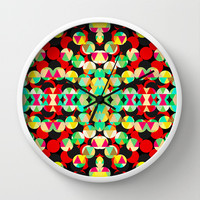 Mix #560 Wall Clock by Ornaart