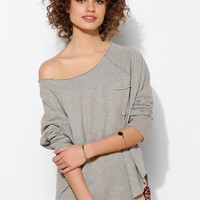 Project Social T Double Layer Slouch Pullover Sweatshirt - Urban Outfitters