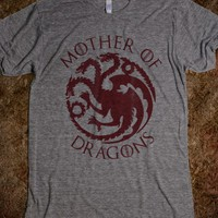 Athletic Grey T-Shirt | Game Of Thrones Mother's Day Gifts