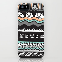MEAW iPhone & iPod Case by Vasare Nar
