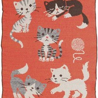 Sweet Kittens Throw Blanket