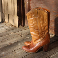 Rugged Vintage Leather Boots