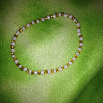 CUSTOM made bead bracelet