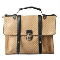 Wholesale Sales promotion retro style college fashion dual-use bags SC-B1388 khaki - Lovely Fashion