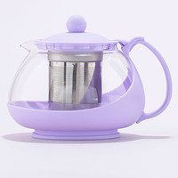 Lavender Glass Infuser Teapot | Tea Time | World Market