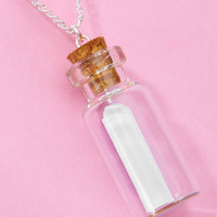 Secret Message In A Bottle Necklace | Shop All Jewelry | fredflare.com