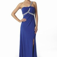 Shop For Blue Jersey Evening Dresses From VERB