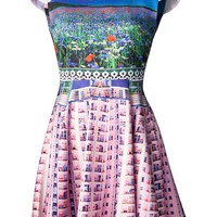 Mary Katrantzou Flower Graphic Dress