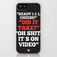 It´s on Video iPhone & iPod Case by Danny Ivan
