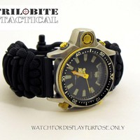 Tactical Paracord Watch Band - 23mm