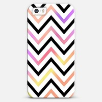Pastel Modern Chevron iPhone 5s case by Organic Saturation | Casetagram