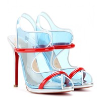 AQUA RONDA 120 TRANSPARENT SLING-BACKS