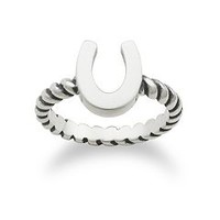 Horseshoe Twisted Wire Ring | James Avery
