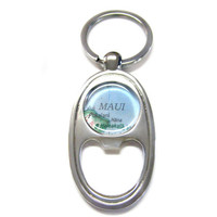 Maui Hawaii Bottle Opener Key Chain