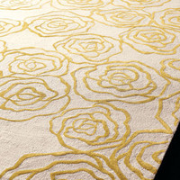 &quot;Roses&quot; Rug - Horchow