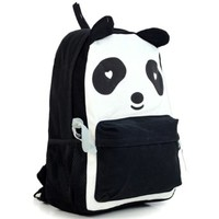 Cartoon Panda School Travel Shoulder Bag Backpack Rucksack
